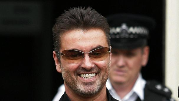 Pop star George Michael