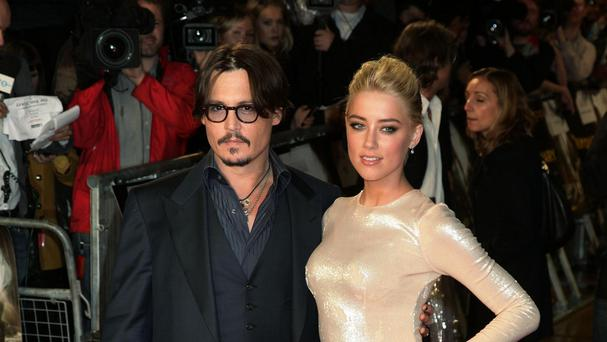Johnny Depp and Amber Heard held an engagement party