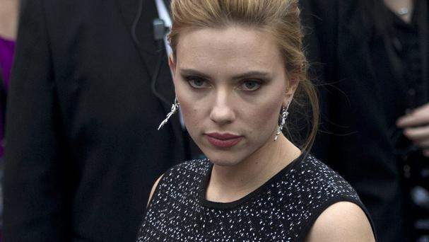 Scarlett Johansson lives her life in the public eye