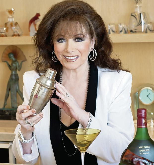 Jackie Collins is shaking things up by turning her hand to all things domestic