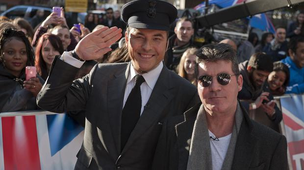 Britain's Got Talent judges Simon Cowell and David Walliams