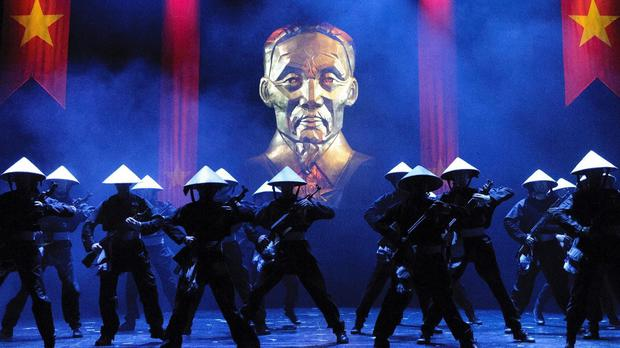 The hit musical Miss Saigon has returned to the West End