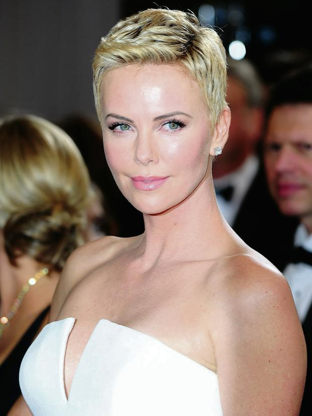 Charlize Theron who has compared press intrusion of her life to rape. PA