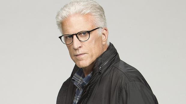 Ted Danson plays team leader D.B. Russell in CSI: Crime Scene Investigation