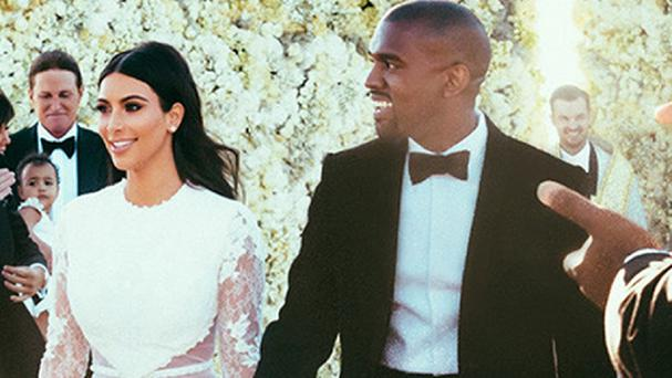 Kim Kardashian and Kanye West enjoyed their romantic honeymoon in Ballyfin after their Italian ceremony