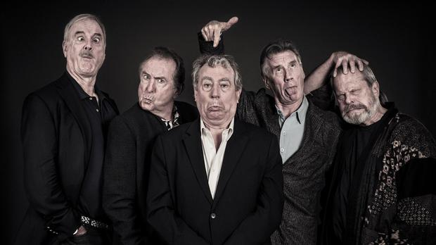 The Monty Python team have reunited for a series of stage shows
