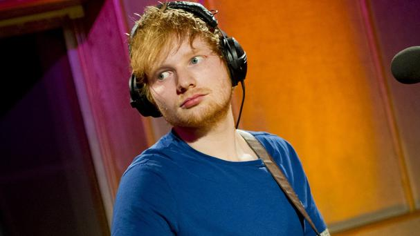 Ed Sheeran has stormed the US charts