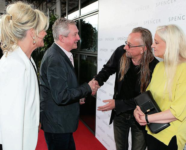 Red carpet: Lisa Fitzpatrick, Louis Walsh, Guggi and Sibylla