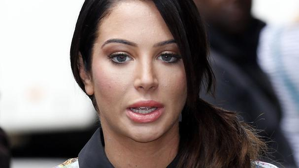 Tulisa Contostavlos denies being involved in a drug deal with an undercover reporter