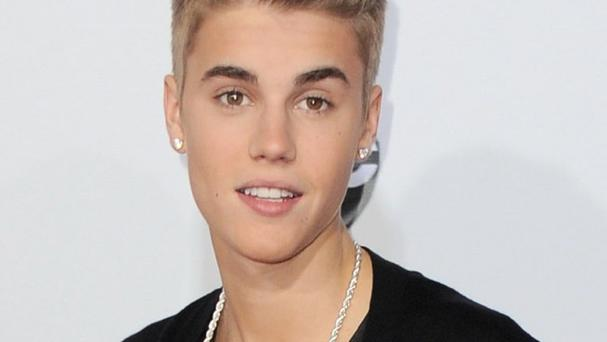 Justin Bieber made no reference to the alleged altercation on his Twitter page