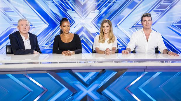 Louis Walsh, Mel B, Cheryl Fernandez-Versini and Simon Cowell have shot a new big-budget ad for The X Factor