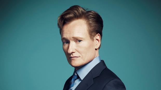 Conan O'Brien's US talk show is coming to the UK