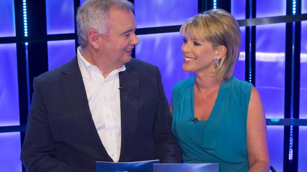 Eamonn Holmes and Ruth Langsford present Gift Wrapped together