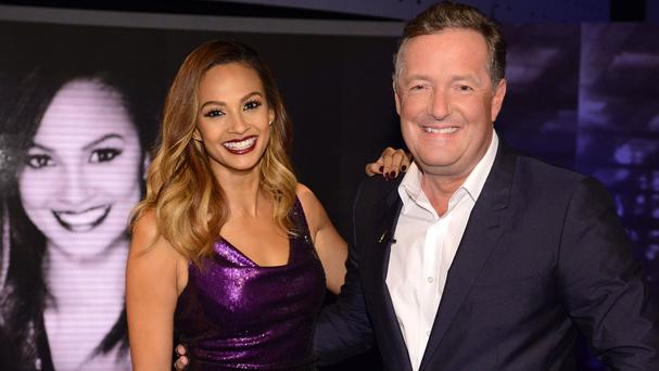 Alesha Dixon appears on Piers Morgan's ITV show