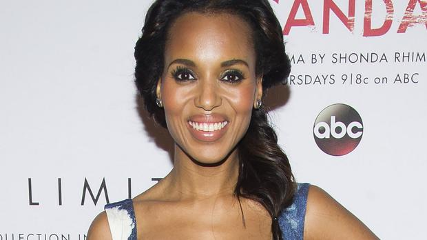 Kerry Washington's mum was worried when she decided to be an actress