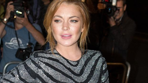 Lindsay Lohan is appearing on the West End stage in Speed-The-Plow