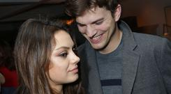 Mila Kunis and Ashton Kutcher have had a baby girl, according to reports (Rex)