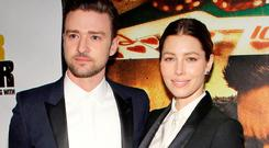 Justin Timberlake and Jessica Biel have settled a lawsuit against Heat magazine (Rex)