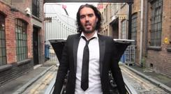 Russell Brand has released a spoof video to the tune of Blur's hit Parklife