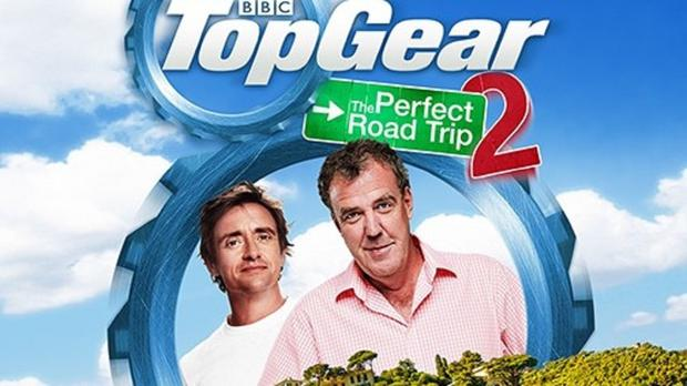 Richard Hammond and Jeremy Clarkson drove round Italy for their new DVD (BBC)