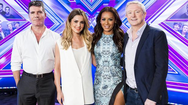 The X Factor judges in 2014 (Syco/Thames TV)