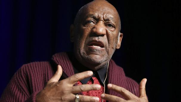 Comedian Bill Cosby's lawyer says the star was not in Los Angeles on the day he was accused of molesting a model (Invision/AP)