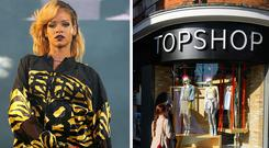 Rihanna has won her T-shirt legal case against Topshop