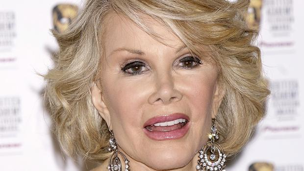 Joan Rivers died last September at the age of 81