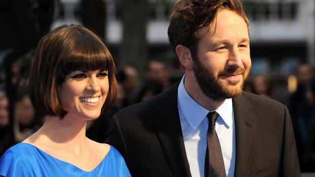 Chris O'Dowd and wife Dawn O' Porter have become parents
