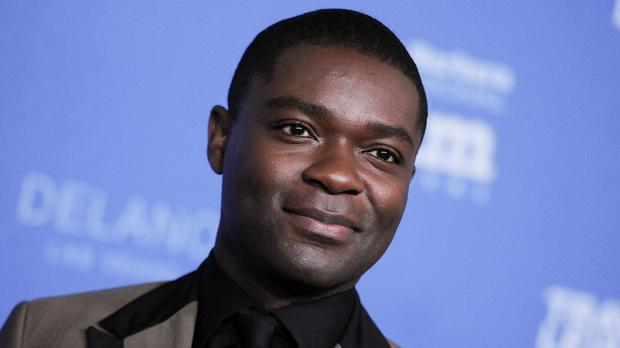 David Oyelowo believes there are few parts for black actors on TV in Britain