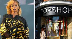 Topshop must pay Rihanna's legal costs