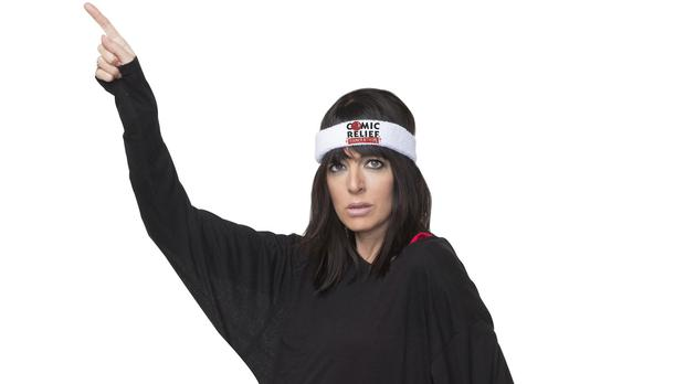 Claudia Winkleman is hosting the first ever Comic Relief Danceathon