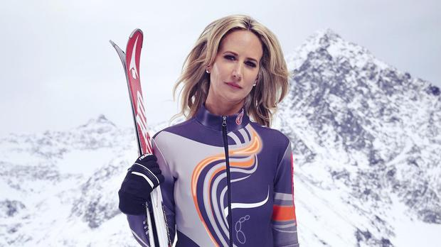 Lady Victoria Hervey has played down reports of rivalry with Jodie Kidd on The Jump