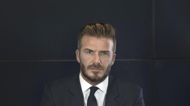 David Beckham is top of the selfies league