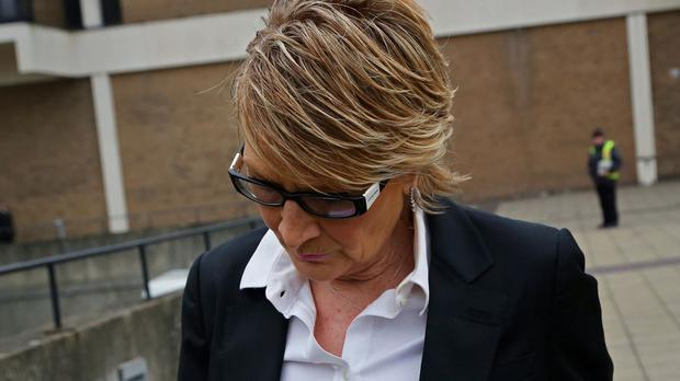 Linda Henry is accused of racially aggravated harassment