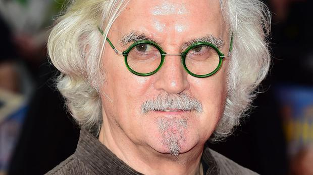 Billy Connolly is doing his bit for Comic Relief
