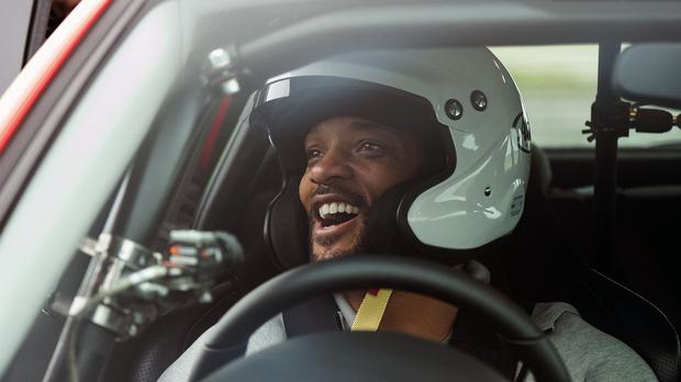 Will Smith tried out Top Gear's star in a reasonably priced car