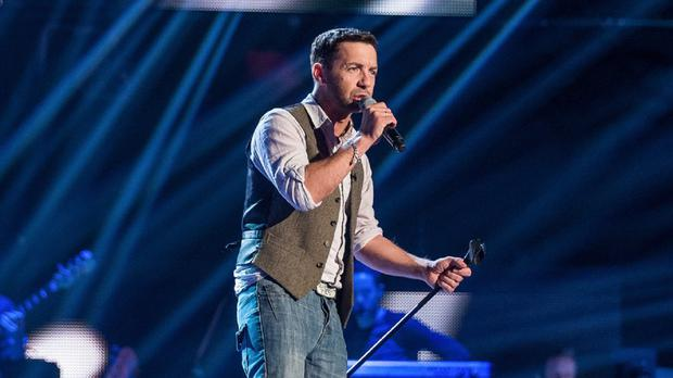 Damian Dalton Smith auditions for The Voice this weekend