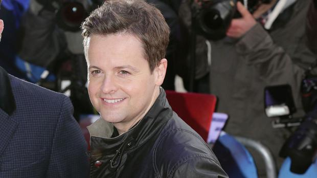 Declan Donnelly, of Ant and Dec, is ready to become a dad