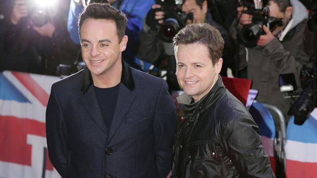 Declan Donnelly, right, has said he finds it difficult to picture Ed Miliband as PM, while Ant McPartlin said he no longer knows what philosophy Labour stands for