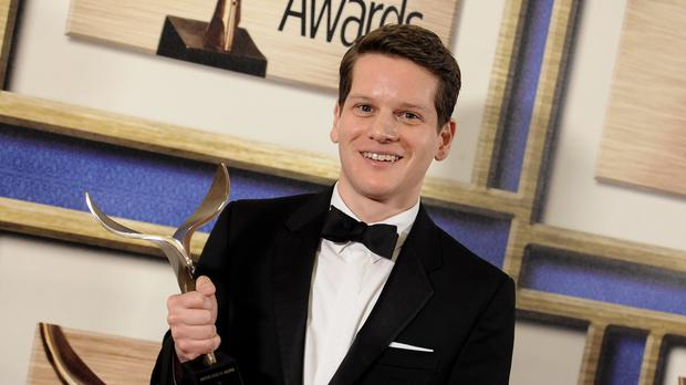 Graham Moore's Oscar speech was quickly repeated on social media (AP)