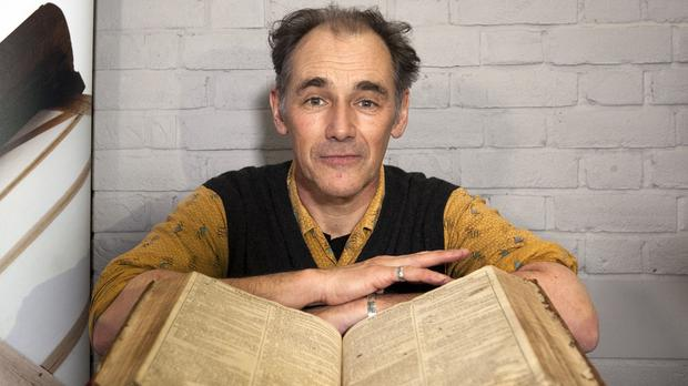 Mark Rylance has said he has to cut out parts of Shakespeare's plays because they are