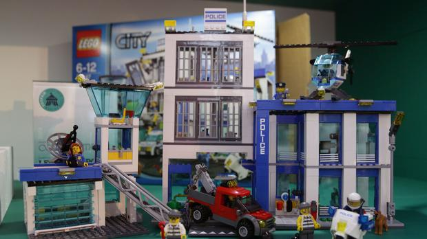 A teenager who uses Lego to recreate famous movie scenes has appeared on a US TV show