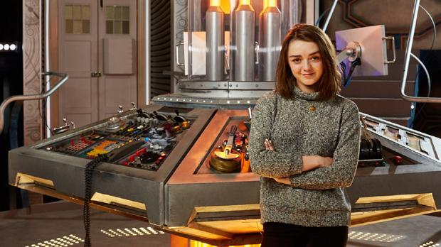 Game Of Thrones star Maisie Williams has taken a break from her role in the blood-thirsty epic to make a guest appearance in Doctor Who (BBC/PA)