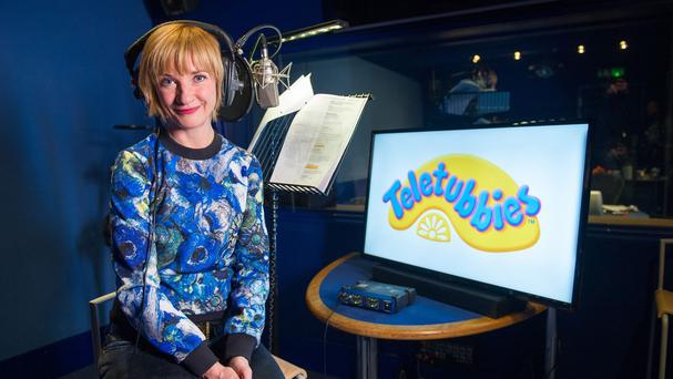 Jane Horrocks during the voice recording for Teletubbies (Jon Cartwright/PA Wire)