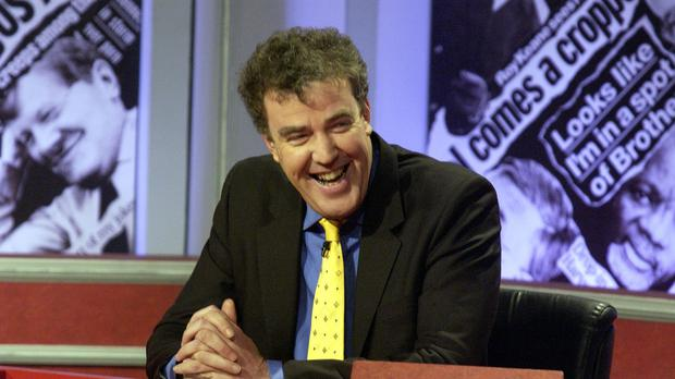 Jeremy Clarkson during a previous appearance on Have I Got News For You in 2002