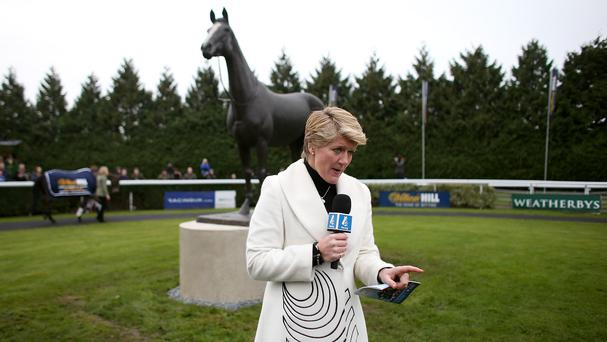 Clare Balding made a gaffe while presenting at the 2009 Grand National