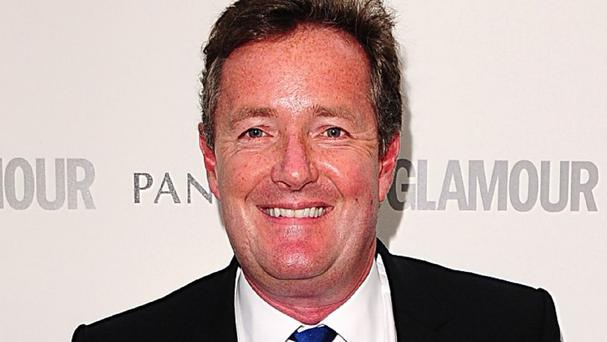 Piers Morgan is co-hosting the ITV breakfast show for a week while Ben Shephard is away