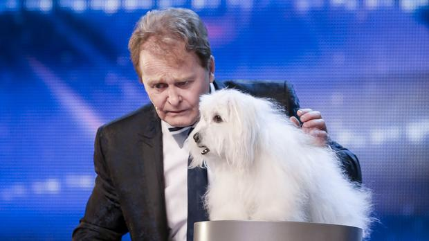 Marc Metral during the audition stage of Britain's Got Talent (Syco/Thames TV/ITV)