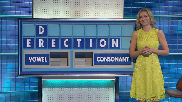 The D feels left out, as two contestants on Countdown cause a few giggles with an eight-letter solution